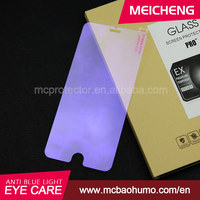 prevent insomnia anti blue ray 0.33mm tempered glass 2.5D screen guard for iphone 6