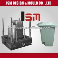 Spply recycling plastic rubbish mould, make plastic trash can molding
