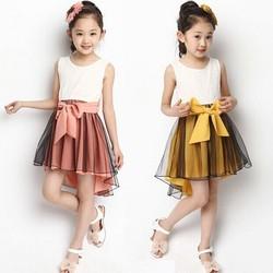 2015 new style pink orange children girl dress/baby girl party dress children frocks designs