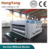 automatic water ink corruagted paperboard 2 color printer slotter die-cutter machine