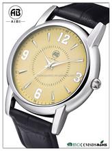 2015 simple custom design high quality men businless wirst watch