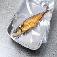 sea food fish clear vacuum bag three side sealed bag