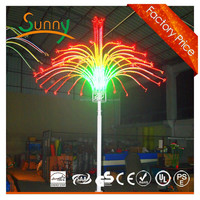 Quality and quantity assured led fireworks led display outdoor