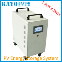 3.2/3.7/7.5KWh solar generator with the lithium-ion battery 1500W/2000W