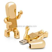 Cool Creative Robot Metal USB Flash Drive 2.0. Best Promot