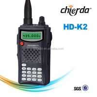 Professional walking talking cell phone two way radio with FM Radio HD-K2AT