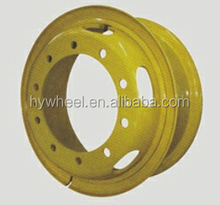TS16949/ ISO9001/14000 trucks wheels for heavy and light trucks