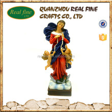 Hot Respectful catholic blessings our lady of assumption prayers statue with angel for sale