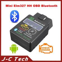 2014 New Design HH OBD Mini ELM327 Bluetooth OBDII elm327 V2.1 OBD2 Diagnostic Scanner Work on Android Symbian Windows ELM 327