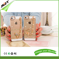 wholesale transparent beautiful soft TPU mobile phone case for iphone 5 5s 6 6s 6plus, for iphone case
