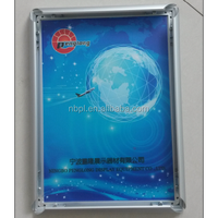 A1.A2.A3.A4.A5. 25mm mitred corner aluminum poster frame wall hanging clip picture frame