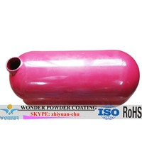 Thermo indoor hybrid Red High gloss RAL3020 Powder Coating