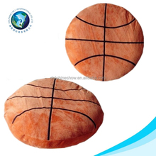 2016 New product basketball club funny stuffed soft plush basketball cushion