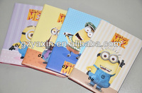Notebook Cell phone case for ipad mini 3 housing / your own design printing case for ipad mini cartoon case