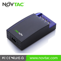Shenzhen munufacturere 6.8A 4 port usb charger mobile station