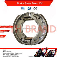 Wholesale CY80 motorcycle brake shoe,factory CY80 parts motorcycle,OEM CY80 shoe motorcycle