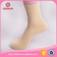 100 percent cotton women warm knitted socks China socks factory