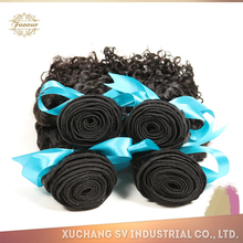 China Manufacturer Directly Selling Pure Human Hair , Curly Virgin Malaysia Hair Extension