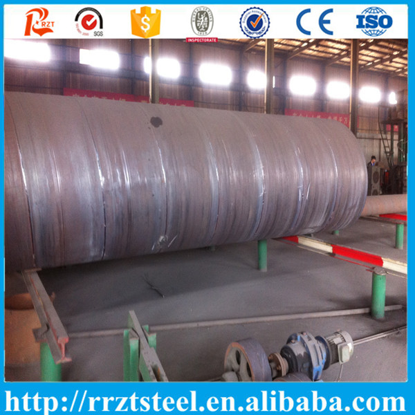 Large diameter copper pipe ssaw steel spiral welded