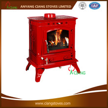 enamel classical cast iron wood burning stove(EN13240)