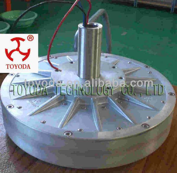 Serbest enerji 1kW mıknatıslı motor/3 fazlı AC alternatör ...