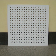 Square Ceiling Tile Shape and Perforated Ceilings Feature ceiling board