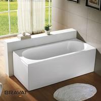 Overflow corner bathtub sizes with massage jet B25505W-5
