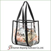 Durable Promotion Clear PVC Tote Bag, Transparent PVC Tote Bag