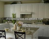 kitchen cabinet skins/pvc shaker white kitchen cabinet