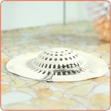 J461 Kitchen Sink Silicone Portable Bathroom Floor Strainer Hair&FDrain Filtering Net For Kitchen Bathroom