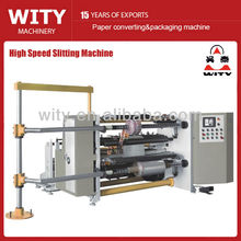 High Speed Plastic Film Slitting Machine (Shaftless Unwinder)