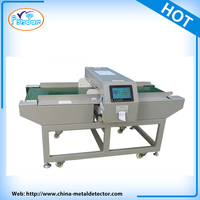 New technology Touch screen conveyor belt needle detector for garment and textile