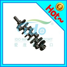 Forged steel cast racing engine crankshaft price for Mazda WL B2500 2.5D 12V WL