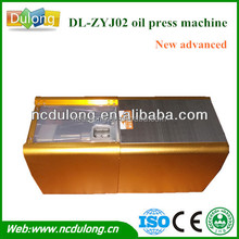 New advance!2014 CE approved portable DL-ZYJ02 with high extraction rate and quality cotton seed oil pressing machines hot sale