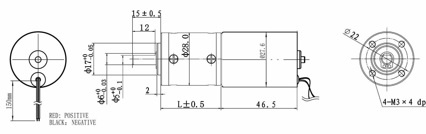 Dsd motor the dc gear motor expert for 12v bldc motor specifications