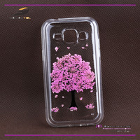 [Somostel] Dry pressed real flower cover case cell phone case for iphone 6 plus