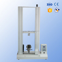 precise plastic packaging material twin column universal tensile test machine