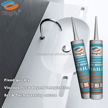 white color No peculiar smell building nail liquid sealant for Plaster