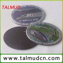 High Quality Tourist gift aluminum film fridge magnet