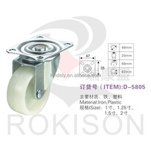 Alibaba high quality furniture dual wheel caster