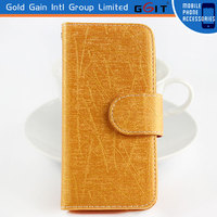 Black Magnetic Flip Stand Hard Cover Wallet Pouch Case For iPhone 5