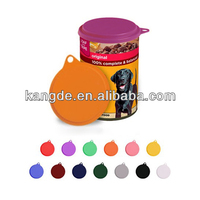 Dog Food Tin Lids,Puppy Food Can Cover,Silicone Jars Caps for Pets Food