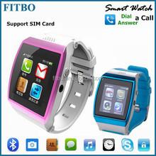 Top Selling !! 1.55Inch Sync SIM card Video play waterproof smart watch
