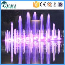 illuminato musicale ballo partito acqua fontana