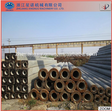 Diameter 300mm-1000mm spun concrete pile mould /concrete pile machine