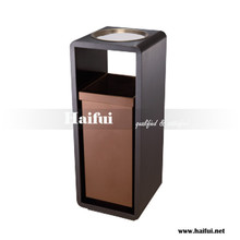 High quality hotel lobby marble ashtray bin, hotel lobby rubbish bin, hotel waste bin