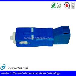 Male to female singlemode lc/sc fiber optic adapter