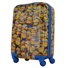 2015 newest abs/pc 19 inch suitcase for kids