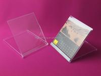 Standard CD case Calendar transparent wholesale