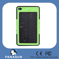 5000mah 2015 new design solar cell phone charger with USB and solar panel